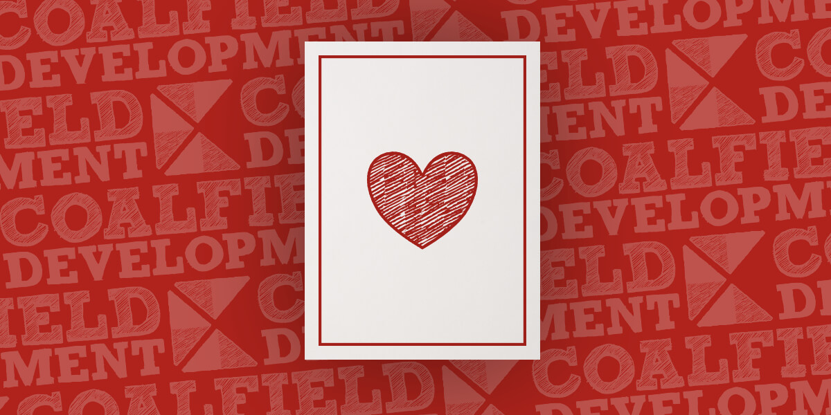 Photo of Coalfield Heart Valentine